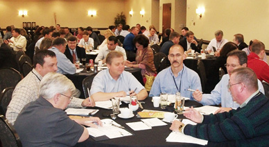 Member share and learn at 2012 Summit