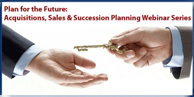Sucession Planning Webinar